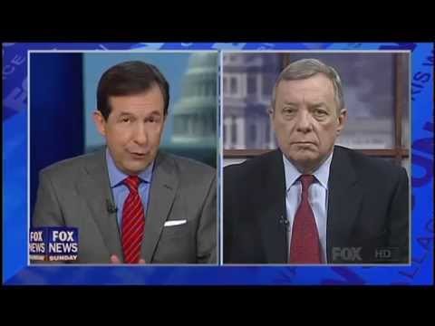 Chris Wallace Grills Dick Durbin Over Letter Singling Out Rove
