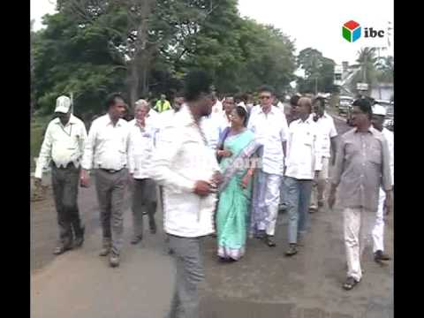 mla usha rani garu conducting clean and green programs