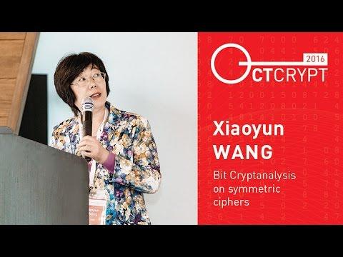 CTCrypt 2016 – Xiaoyun Wang – Bit cryptanalysis on symmetric ciphers
