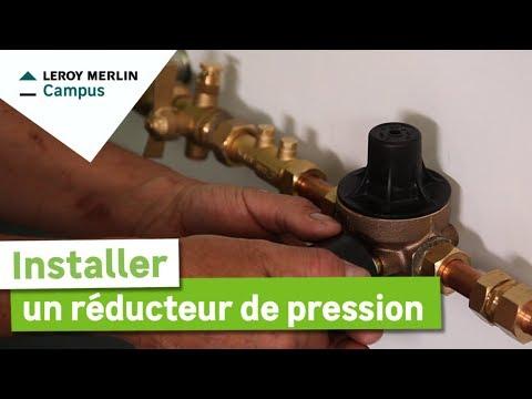 Comment Installer Un Reducteur De Pression Leroy Merlin Youtube