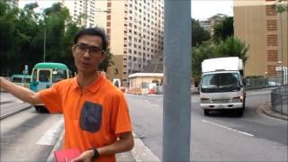 【葵青區議員周偉雄。工作回顧:葵盛東西邨98/89系列小巴班