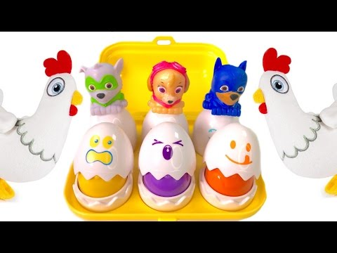 Thumbnail: Best Learning Colors Video for Children - Paw Patrol Surprise Eggs Matching