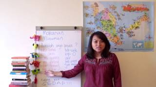 [Learn Malay] #3: Ordering food and drinks