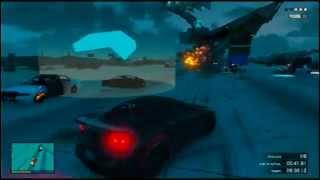GTA V Online | Carreras locas | Funny Moments #1