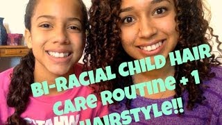 Multi-Racial Child Hair Care + 1 Hairstyle