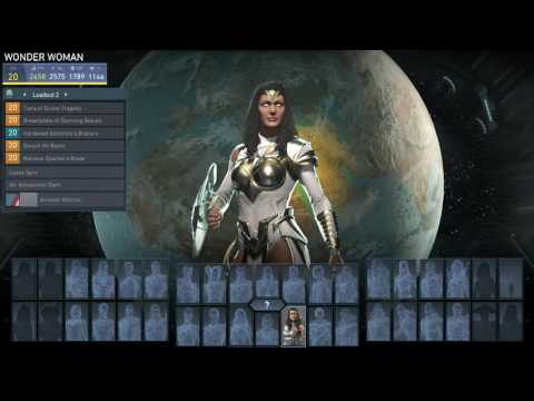 Injustice 2 Equip Epic Hippolyta Golden Girdle for High Strength Build