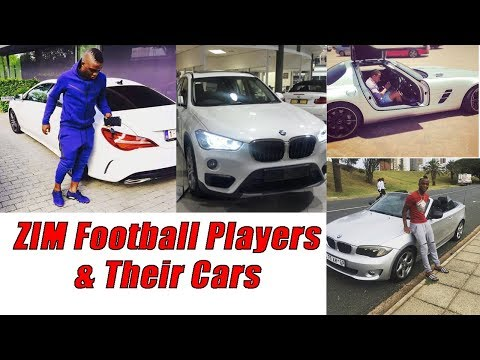 Zimbabwe Football Players & their cars