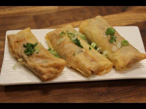 Dragon Seafood Rolls | Chinese Seafood Recipes | Sanjeev Kapoor Khazana