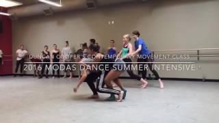 Duncan Cooper Contemporary Movement Class - 2017 MODAS Dance Summer Intensive