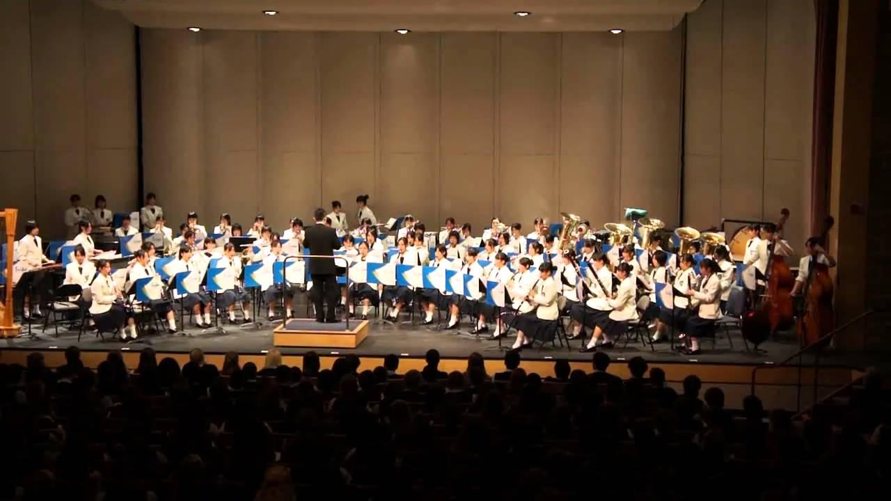 Seika High School Girls Band Club Performs At Bi - Youtube-1003