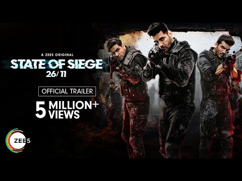 State of Siege: 26/11   Official Trailer   A ZEE5 Original   Streaming Now on ZEE5