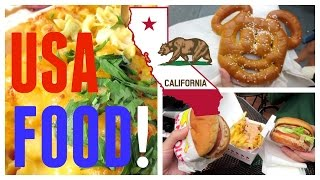 ✈ U.s.a. Trip: Food Diary (almost)