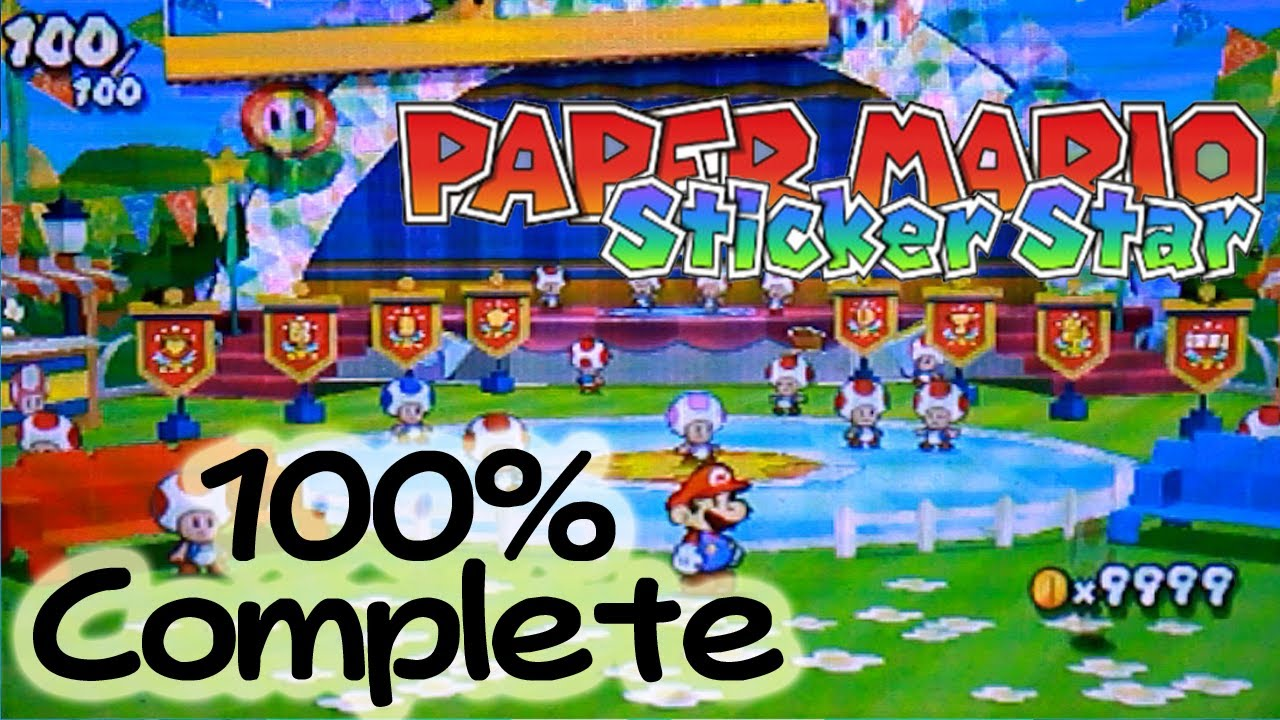 paper mario sticker star 5 1 help A mystery's afoot on prism island and only mario™ can solve it—by restoring the land's vanishing colors with his new paint hammer.