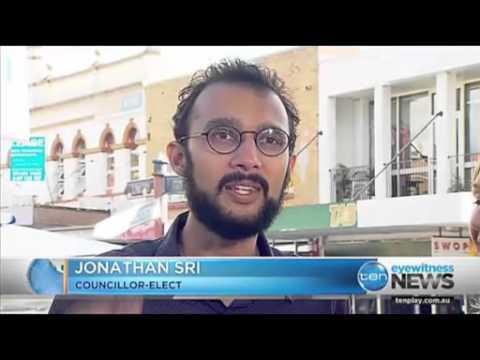 The Greens' Jonathan Sri wins The Gabba ward for Brisbane City Council