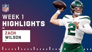 Zach Wilson EVERY Play in NFL Debut! | Preseason Week 1 2021 NFL Game Highlights