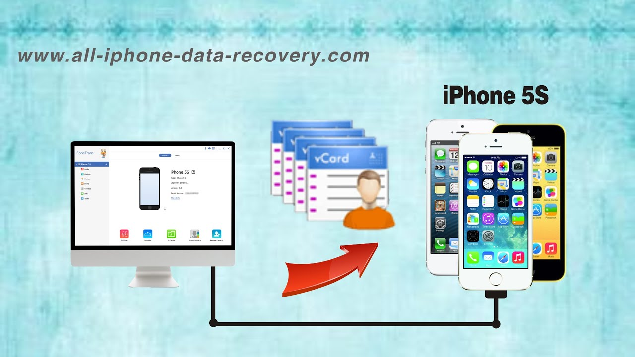 import vcf to iphone vcf files to iphone 5 how to import contacts from vcard 7989