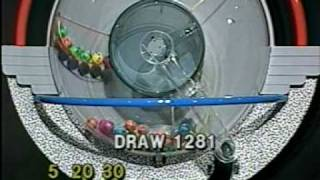 Repeat youtube video Tattslotto Draw 1281 - October 1993