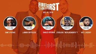 First Things First audio podcast (7.30.19)Cris Carter, Nick Wright, Jenna Wolfe | FIRST THINGS FIRST