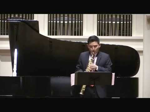 Lessons of the Sky by Rodney Rogers, soprano saxophone and piano