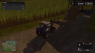 Farming Simulator 17 Live Ps4 #25 - Nowy kombajn Fendt w akcji.