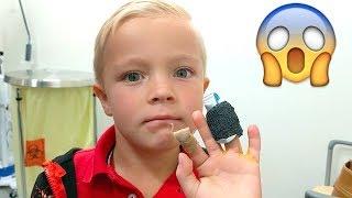 Kid Gets BROKEN FINGERS at School!