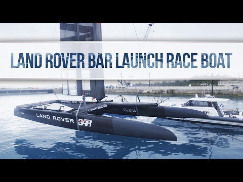 Land Rover BAR Launch Race Boat, February 6, 2017