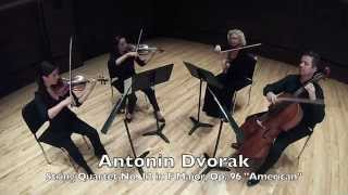 "Antonin Dvorak - String Quartet No. 12 ""American"" mov. IV Finale. Vivace ma non troppo"