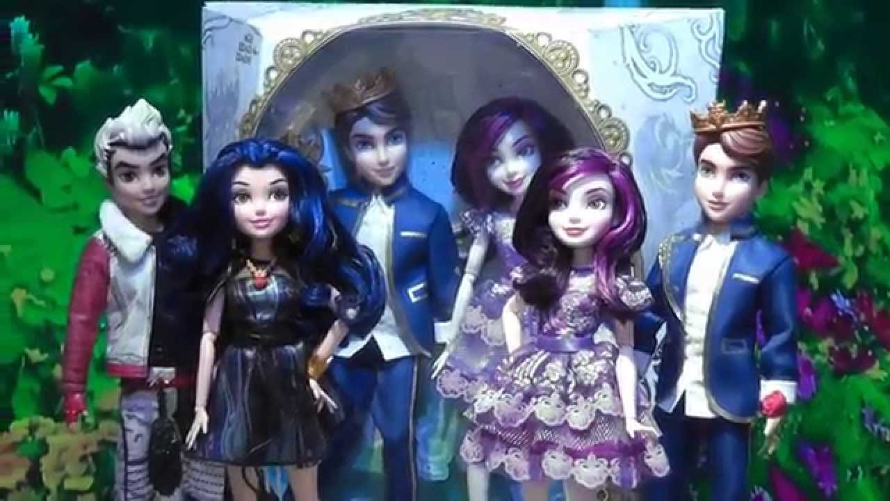 Disney Descendants Dolls Youtube