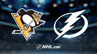 Pittsburgh Penguins vs Tampa Bay Lightning | Feb.9, 2019 | Game Highlights NHL 2018/19 | Обзор матча
