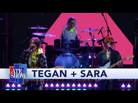 See Tegan and Sara Perform 'I'll Be Back Someday,' Talk Origin Story on 'Colbert'