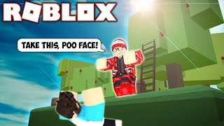 MY FIRST EVER ROBLOX OBBY (FAN TRIED TO KILL ME) 😂