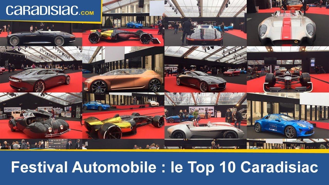 festival automobile international le top 10 caradisiac youtube. Black Bedroom Furniture Sets. Home Design Ideas