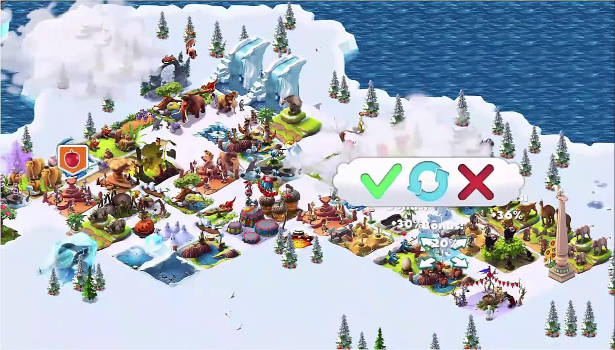 ice age village level 25  youtube