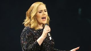 Oops! Watch Adele Totally Flub Her Song 'A Million Years Ago' in Concert