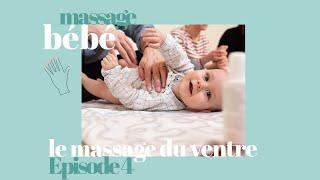 Massage bébé : le massage du ventre