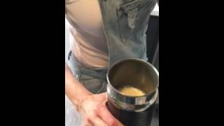 How to make iced coffee with Nespresso machine