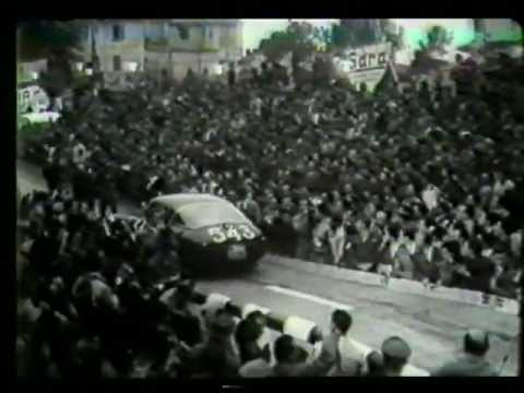 Mille miglia 1953 (movie by Shell) Part 1/2