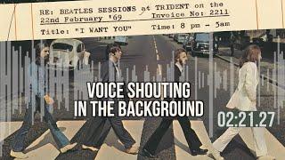 The Hidden Voice in The Last Beatles Song