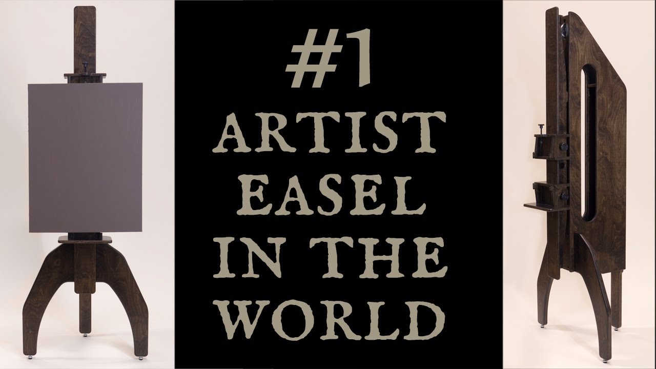 Number 1 Artist Easel in the World - Geneva Studio Easel is like no other