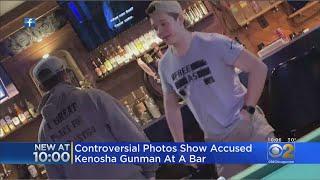 Controversial Photos Show Accused Kenosha Gunman Kyle Rittenhouse At Bar