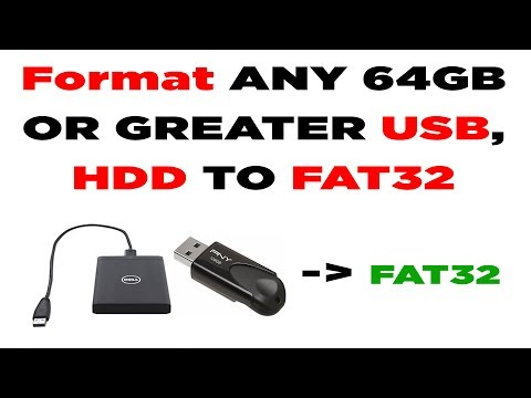 how to format any 64gb usb or hard drive hdd to fat32. Black Bedroom Furniture Sets. Home Design Ideas