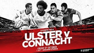 Ulster Rugby v Connacht Promo