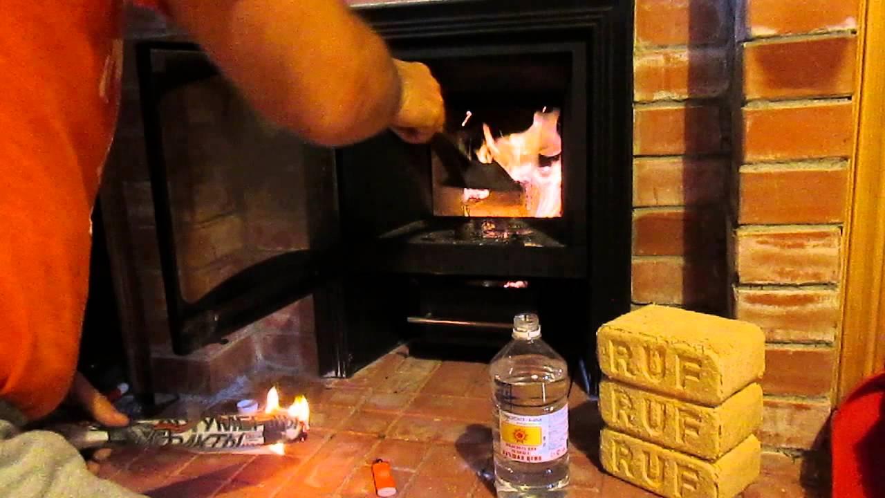 Отопление дома топливными брикетами