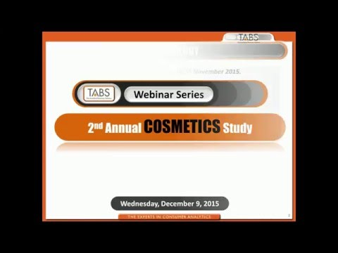 2nd Annual Cosmetic Study