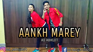 Aankh Marey | Simba |  Dance Cover | AD Abhijit Choreography