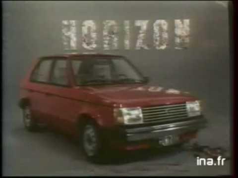 Anuncio Simca Horizon 1979