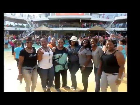 Carnival Breeze White-Williams Family Vacation 2015