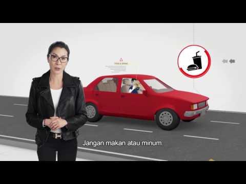 SAFE STEPS Road Safety: Tidak Fokus Saat Mengemudi (Bahasa Indonesia - Distracted Driving)