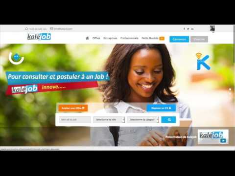 Kalejob - Connecting Africa to job offers by SMS !