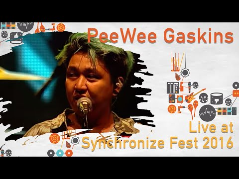 Pee Wee Gaskins Live At SynchronizeFest 2016